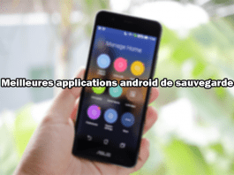 Meilleures applications android de sauvegarde
