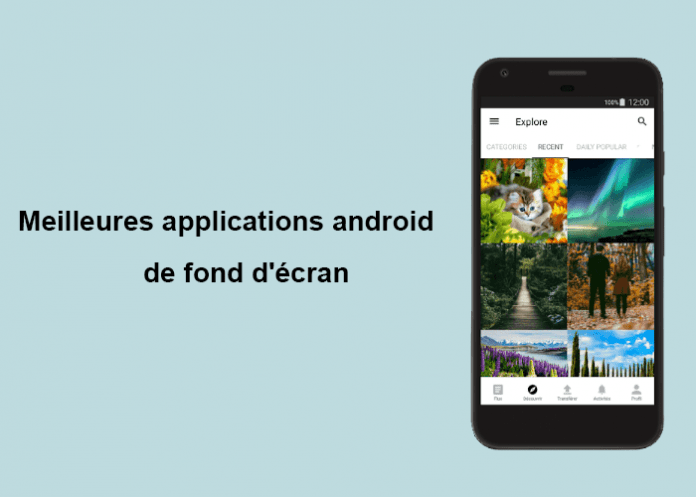 applications android de fond d'écran