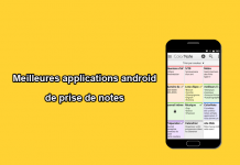 applications android de prise de notes