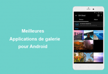 applications de galerie pour Android