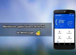 applications Android de Nettoyage