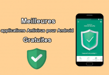 applications Antivirus pour Android