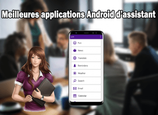 applications Android d'assistant
