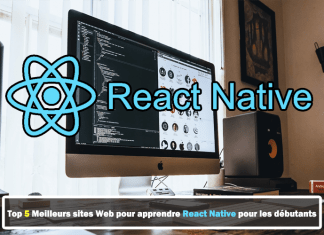 sites Web pour apprendre React Native