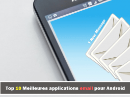 applications email pour Android