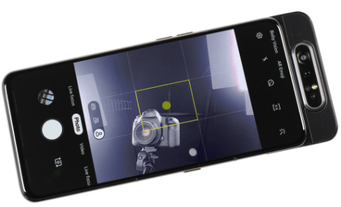 smartphones avec camera pop-up