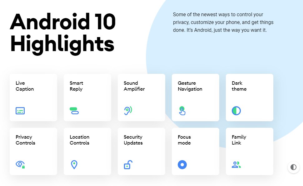 Google publie officiellement Android 10